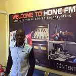 Simon Berry talks to George Phiri of Hone FM 94.1