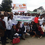 Kit Yamoyo paraded by young pharmacists during Pharmacy Awareness Week